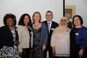 Het bestuur van stichting 8 maart Delft voor vrouwen en meisjes