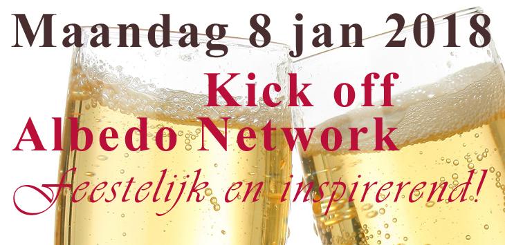 8 januari Kick off Albedo Netwrok