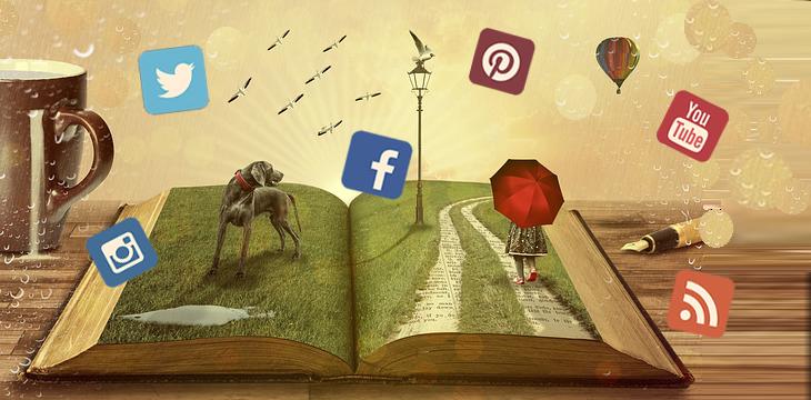 boekpromotie met socialmedia