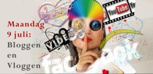 bloggen en vloggen maandag 9 juli in delft