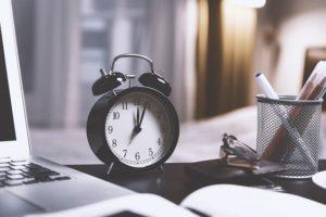 minder tijd nodig om te bloggen