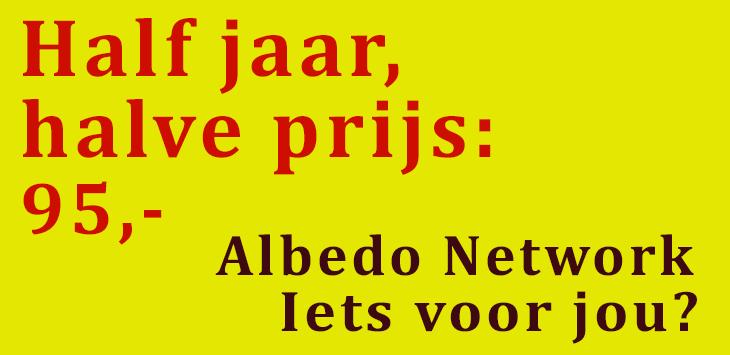 bekijk de agenda 2018 van het Albedo Network